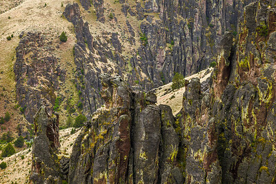 Owyhee Canyon Layers, Oregon.