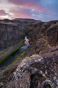 Owyhee East Fork Dawn, Idaho.
