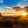 Monument Valley - sunset  (April 2014)