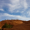Monument Valley - above Skull Rock  (April 2014)