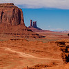 Monument Valley - Navajo and horse  (April 2014)