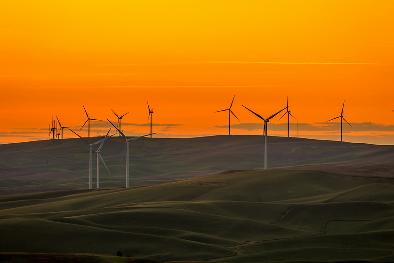 Windmills in the Palouse