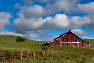 Palouse Barn 7345