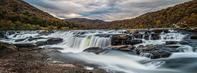 Sandstone Falls Pano