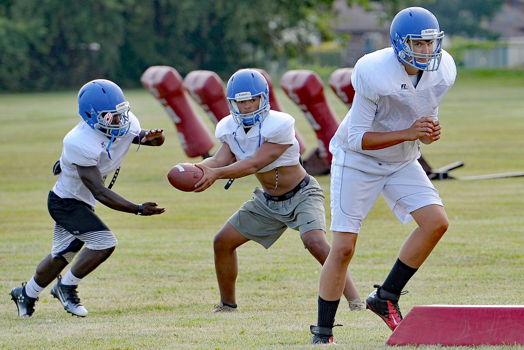 . The Parkway Christian High School football team gets ready for the 2017 season. THE MACOMB DAILY PHOTO GALLERY BY DAVID DALTON