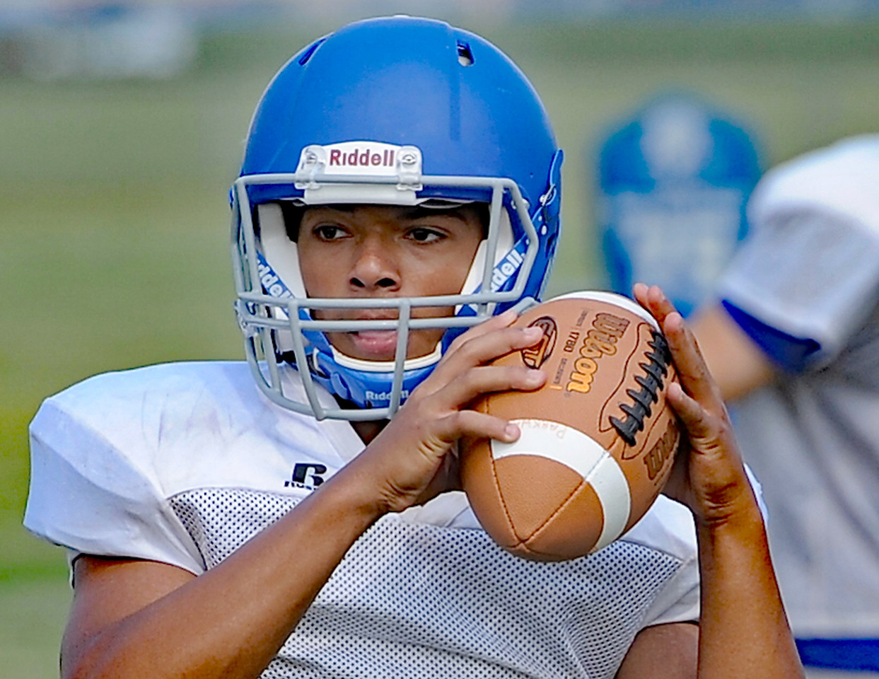 The Parkway Christian High School football team gets ready for the 2017 season. THE MACOMB DAILY PHOTO GALLERY BY DAVID DALTON