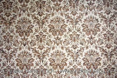 vintage wallpaper - with brown ornaments - adobe RGB