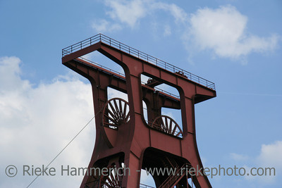 Shaft XII of the famous coal-mine Zollverein - World Heritage Center and industrial culture site Built between 1928 and 1932, closed 1986