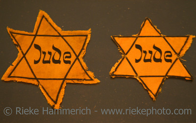Two Jews Stars - Symbol for the persecution of jews in the third reich