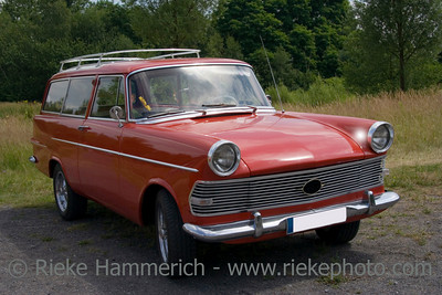 Vintage Opel Rekord - German Car