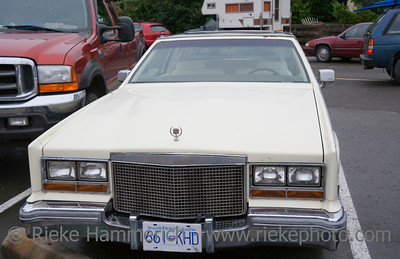 Vintage Cadillac Eldorado Biarritz - American Luxury Car, Model Year 1976