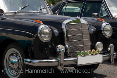Vintage Mercedes - Benz - Black German Car