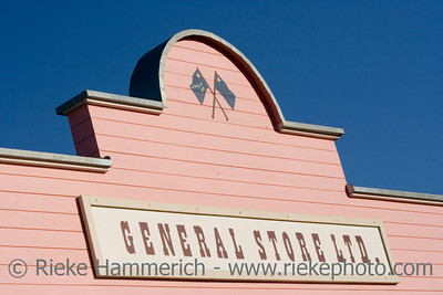 store sign - commercial sign on a pink house - adobe RGB