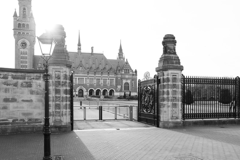 The Peace Palace. The Hague