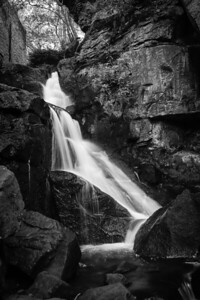 Water fall with a long exposure, Located near matlock - Lumsdale Falls