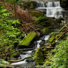Lumsdale Waterfalls, Near Buxton, Long exposure to soften the water