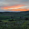 Sunset over Bamford in the Peak District