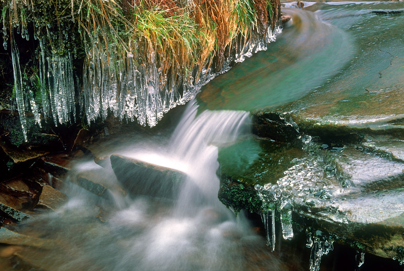Goyt valley ice