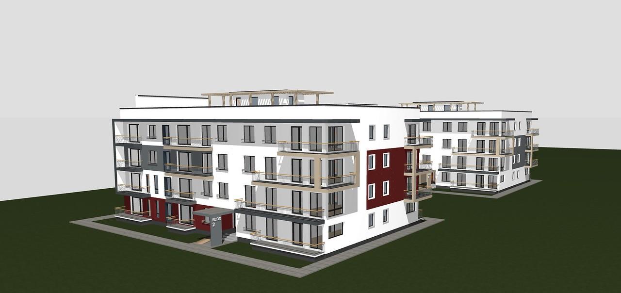 Blocks in Brasov, a big one, 176 apartments