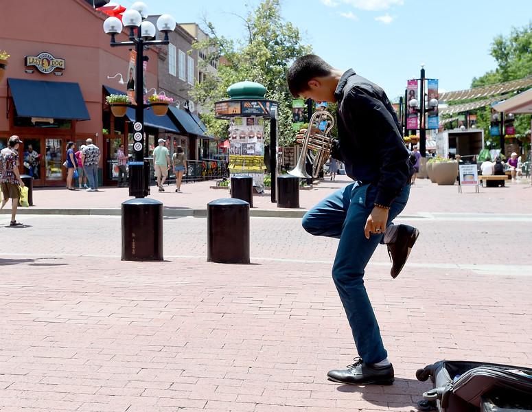 Gabriel Angelo Street Performer
