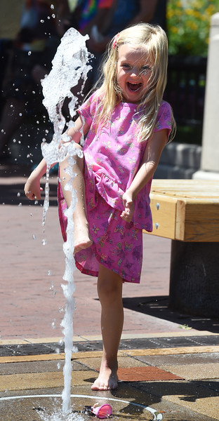 Cooling Off on Pearl Street