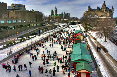 Rideau Canal Skaters