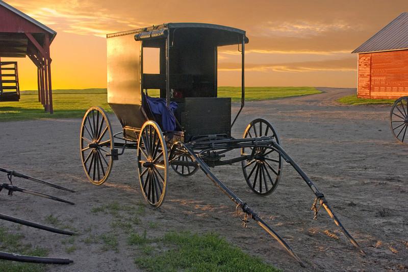 Sunset Buggy (8 x 12)