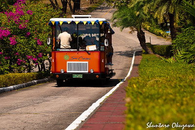 Trolleying on Corregidor Island