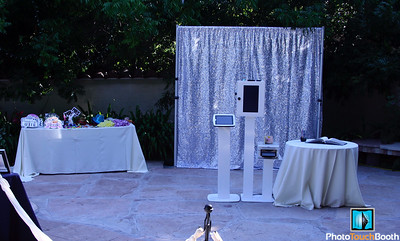 Our beautiful set up at  Eden Gardens in Moorpark