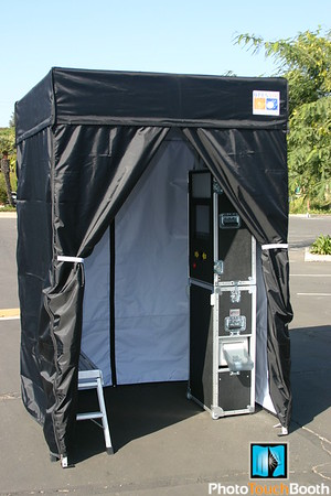 You can have complete privacy in our enclosed Photo Booth option. Fits 6 to 10.