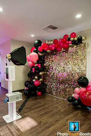 New 8x8 Live Sequin Wall