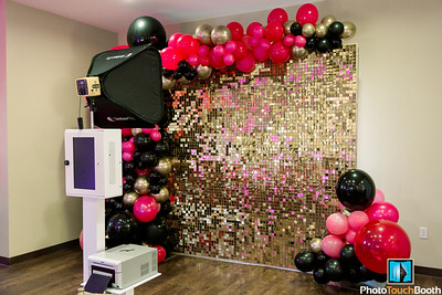 NEW- 8x8 GOLD  LIVE SEQUIN WALLS