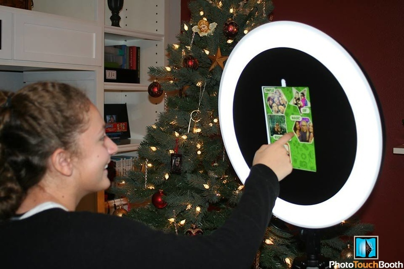 Our New RingLight Selfie Photo Booth