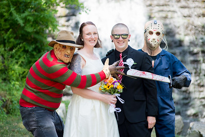 Friday the 13th Wedding 2018
