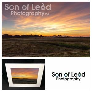 Sunset over the North Warren @ Aldeburgh