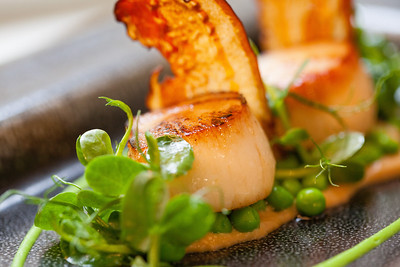 Chris Cleghorn food at the Olive Tree Bath