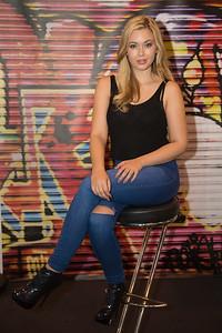 Bethany Cammack seated pose
