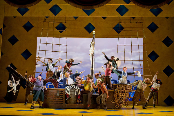 The Pirates of Penzance Production Photos