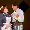 (L-R) Mezzo-soprano Luretta Bybee is Ruth and tenor Mackenzie Whitney is Frederic in San Diego Opera's THE PIRATES OF PENZANCE. October, 2017. Photo by J. Katarzyna Woronowicz Johnson.