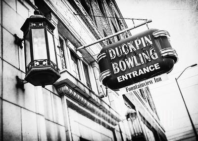 Duckpin Bowling - Fountainview Inn