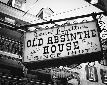 Jean' Lafitte's Old Absinthe House