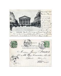Madeleine - Paris - 1902(?)