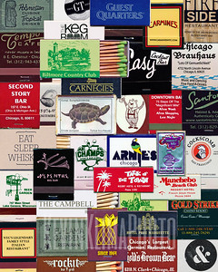 matchbook collage