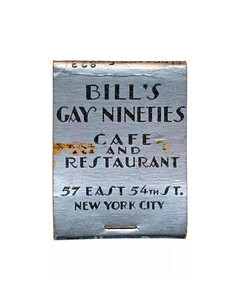 Bill's Gay Nineties Cafe and Restaurant