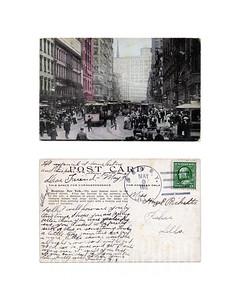 Broadway - New York City - 1911