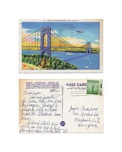 George Washington Bridge, New York City - 1942