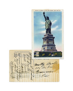 Statue of Liberty - 1945