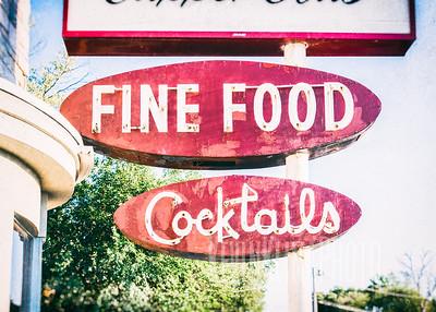Fine Food - Cocktails
