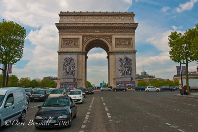 France-Paris attractions-Arc de Triomphe
