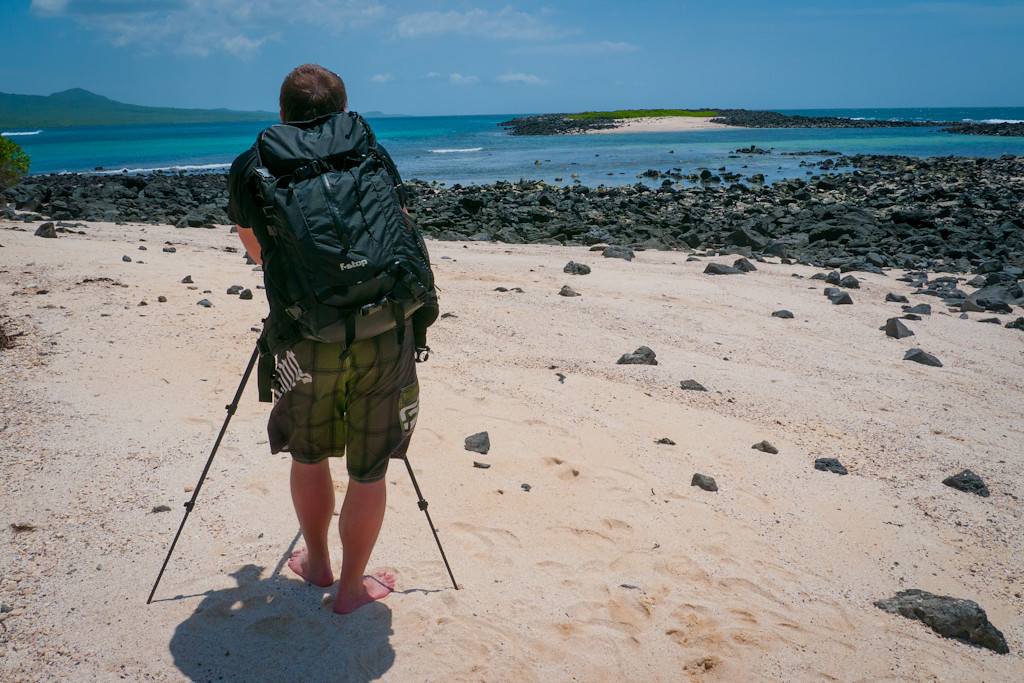 F-Stop gear in Galapagos Islands